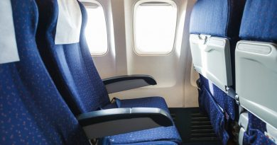 Airline Seat Space