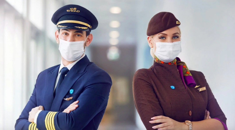 Etihad Airways is the First Airline Worldwide to Vaccinate 100% of Its On-Board Crew