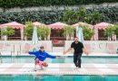Happy at Pharrell Williams' New Hotel