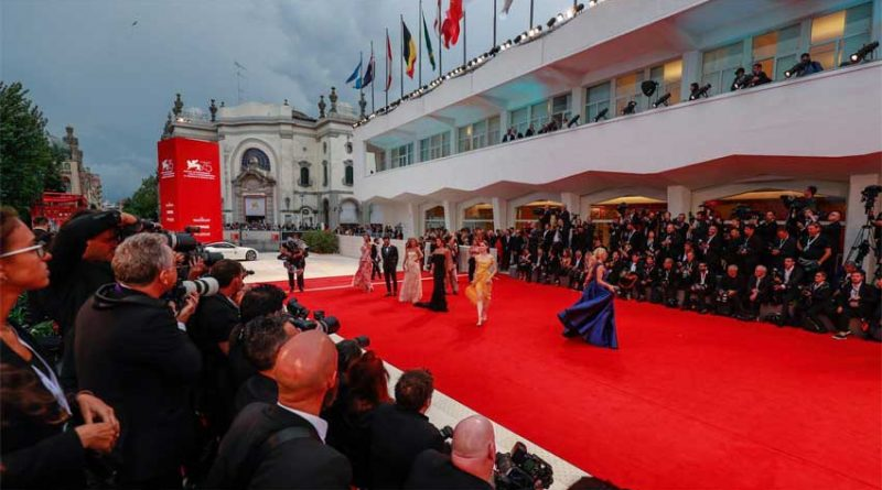 The Venice Film Festival is where quarantine was first introduced